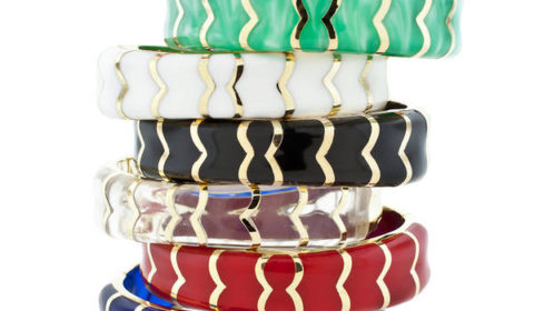 Andrew Hamilton Crawford  magnetic hinged bracelet in assorted colors.  style S151  $150.00