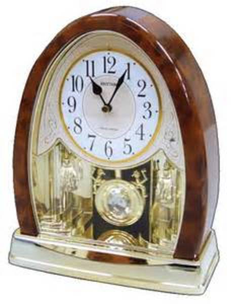 Nightingale Rhythm Mantle Clock with 16 melodies style 825-0103 $225.00
