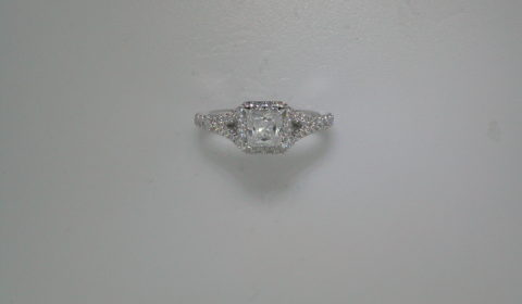 Semi-mount engagement ring with diamonds =.58ct style ER12599S3ALZJJ $2650.00