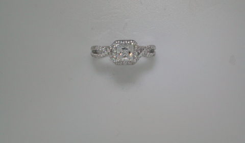Semi-mount engagement ring with diamonds =.58ct style ER12600S3ALZJJ $2815.00