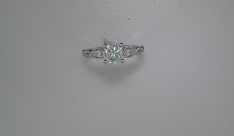 Semi-mount engagement ring with diamonds =.49ct style ER12803R4ALZJJ $2340.00