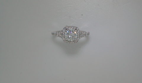 Semi-mount engagement ring with diamonds =.79ct style ER12813R4ALZJJ $2950.00