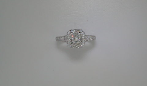 Semi-mount engagement ring with diamonds =.95ct style ER12827C4STZJJ $3915.00