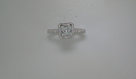 Semi-mount engagement ring with diamonds =.87ct style ER12951S4ALZJJ $3715.00
