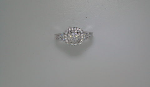 Engagement ring with diamonds =1.14ct total weight style 405-0243 $3900.00